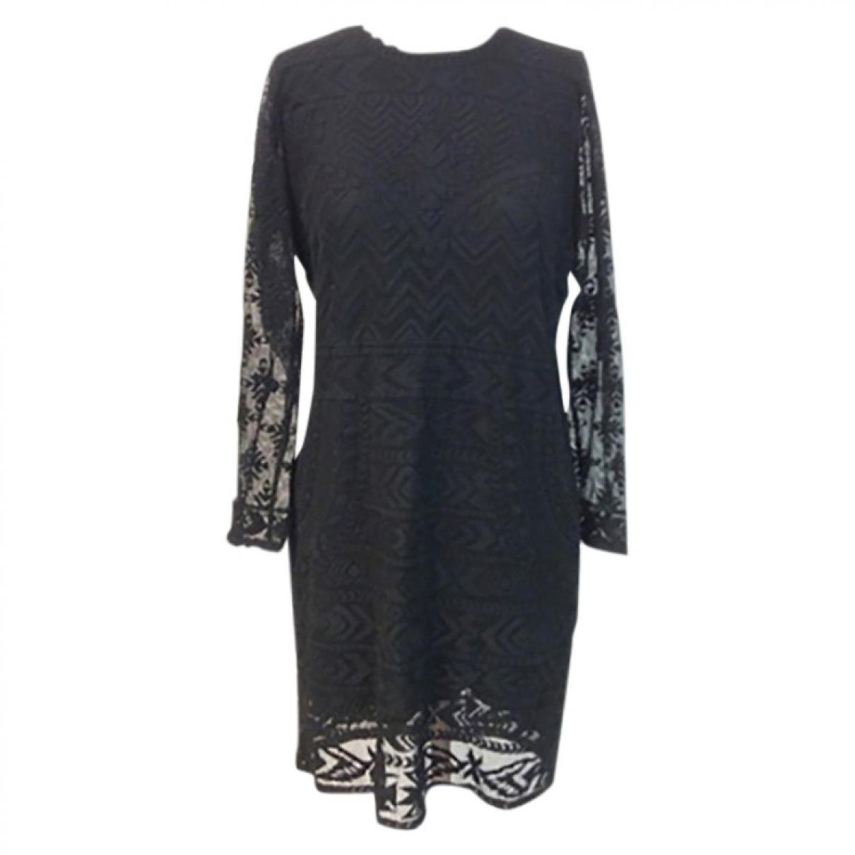 Isabel Marant Pour H&m \N Kleid in  Schwarz Synthetik