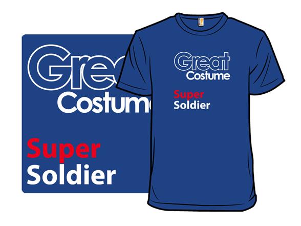 Super Soldier Costume T Shirt