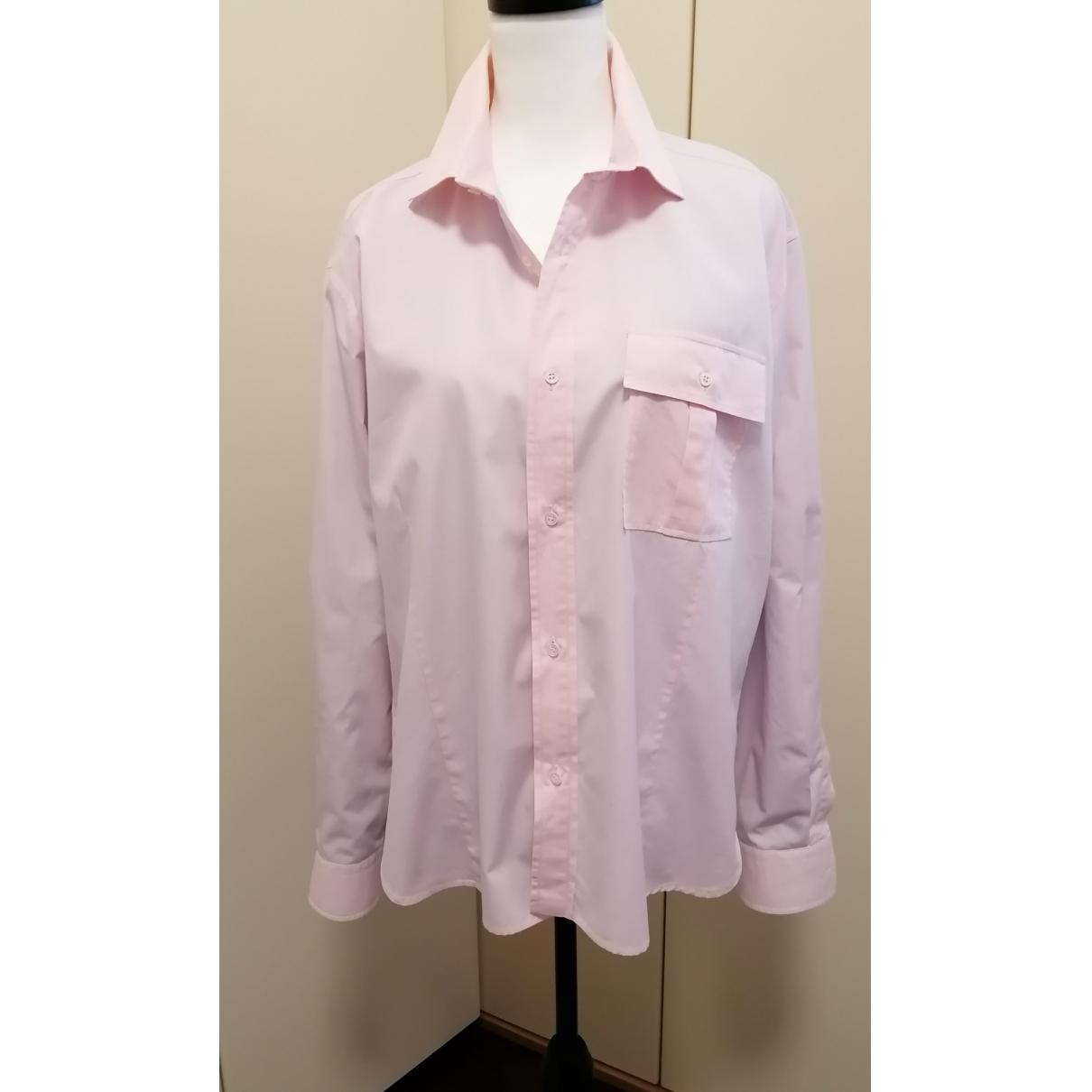 Ermenegildo Zegna \N Hemden in  Rosa Baumwolle