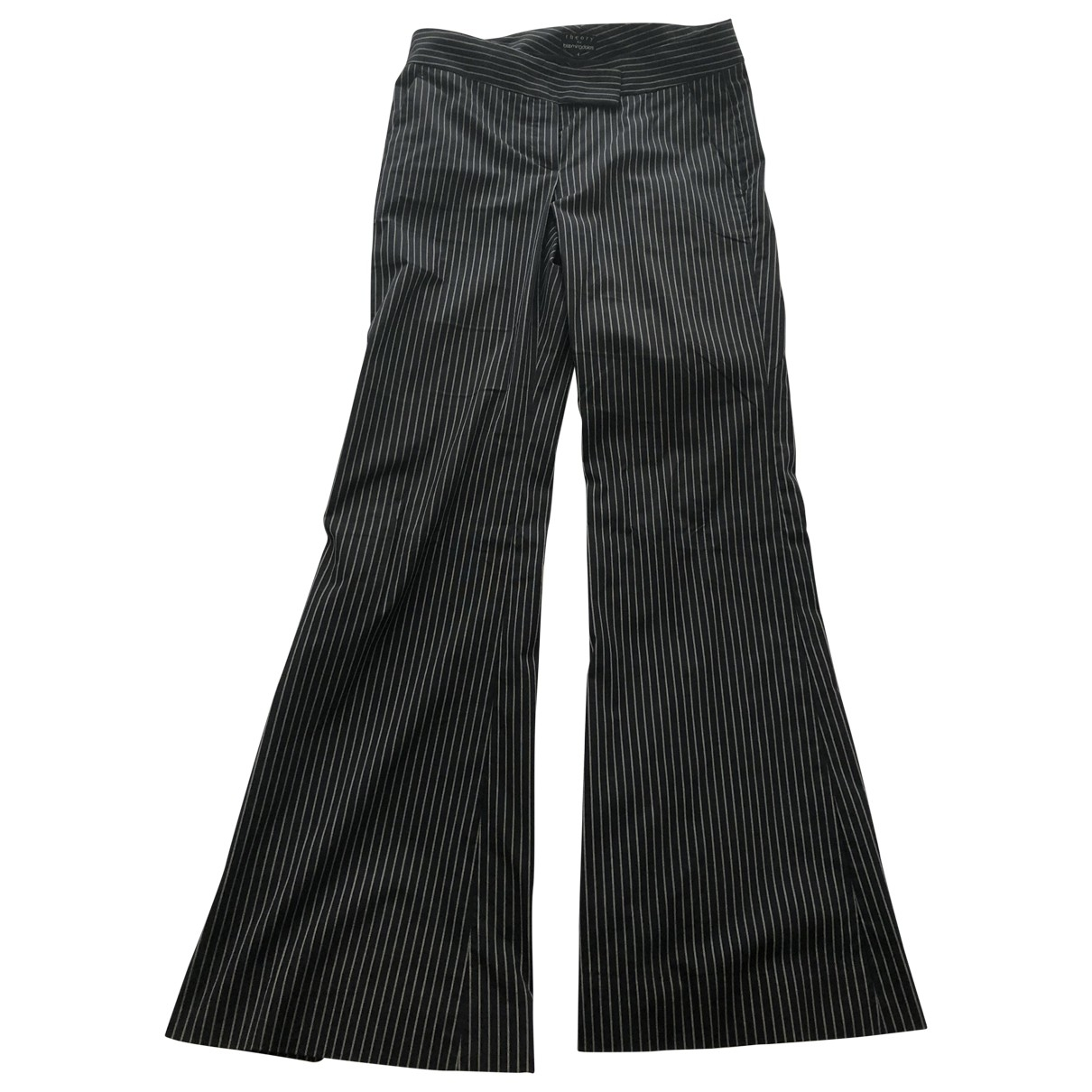 Theory \N Navy Cotton Trousers for Women 4 US