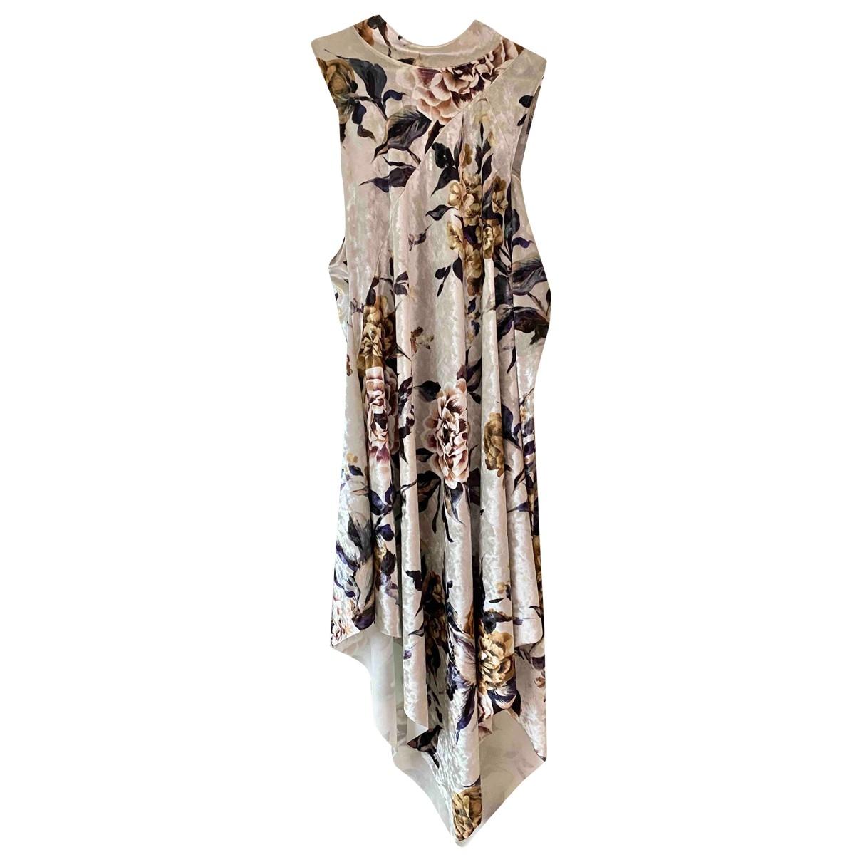 Mm6 \N Kleid in Samt