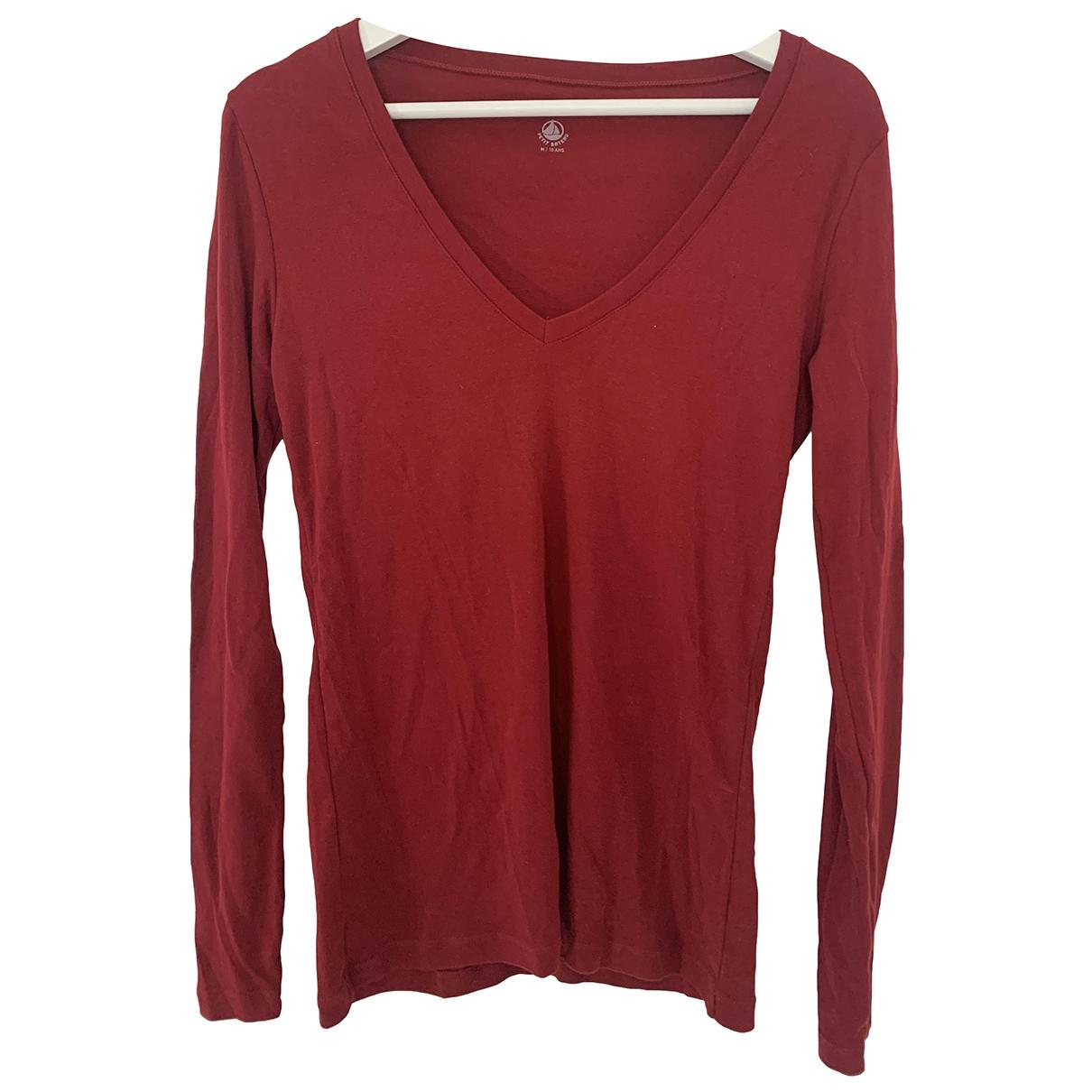 Petit Bateau \N Pink Cotton  top for Women M International