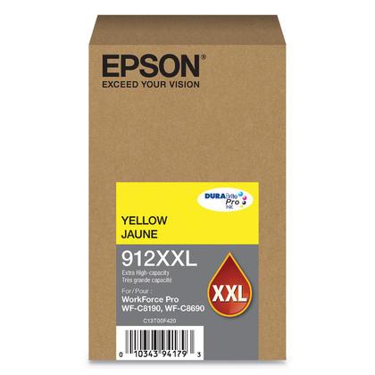 Epson 912XXL T912XXL420 Original Yellow Ink Cartridge Extra High Yield
