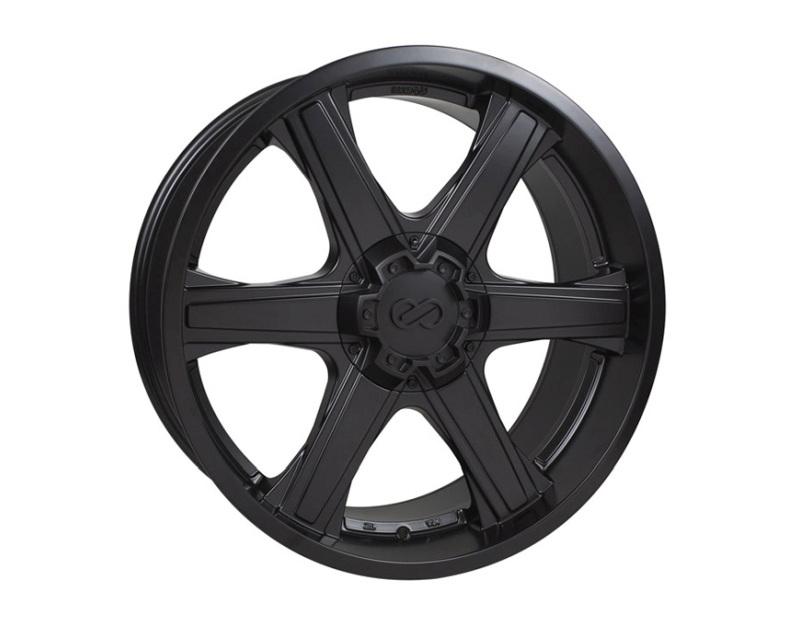 Enkei BLACKHAWK Wheel Truck & SUV Series Matte Black 20x9.5 6x139.7 30mm