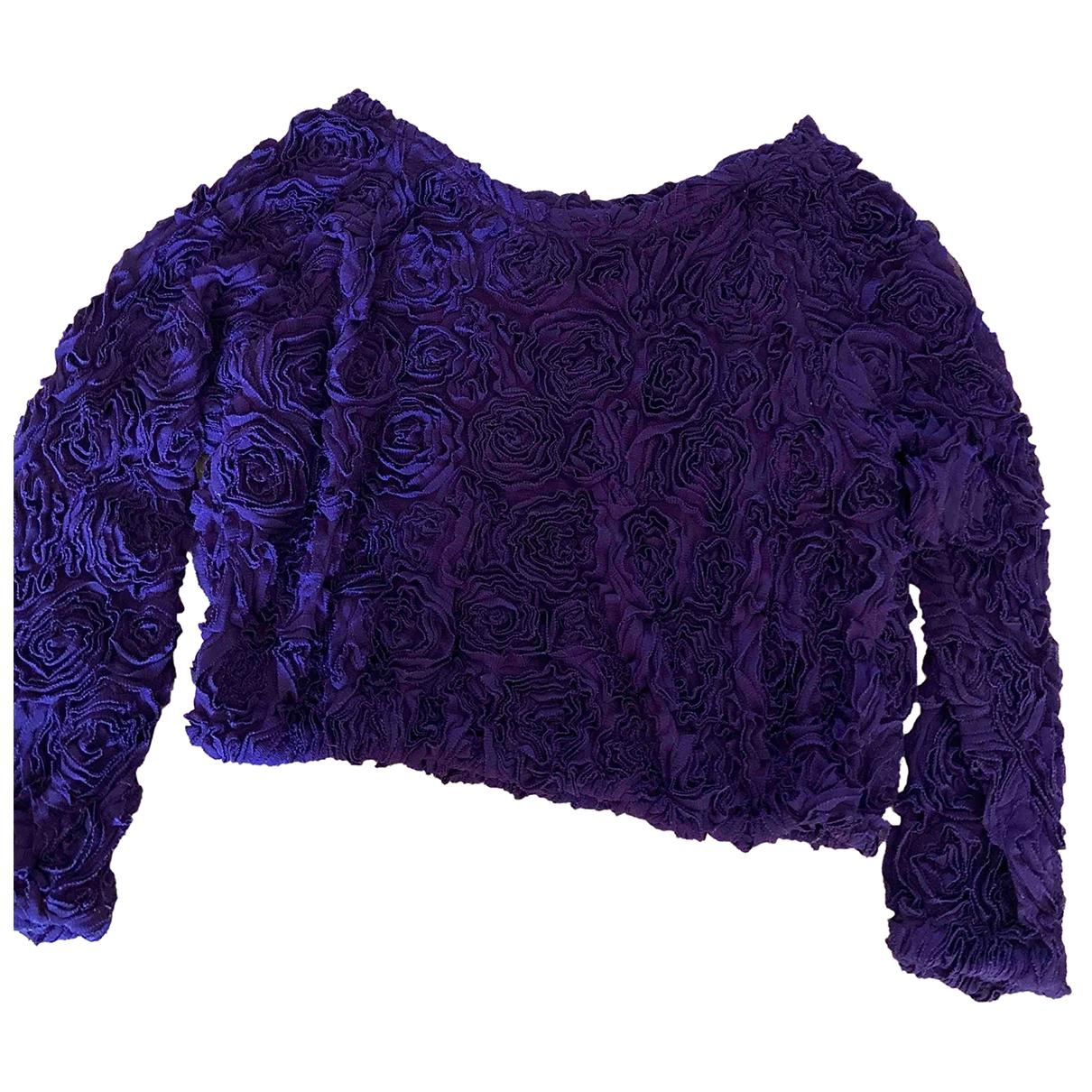 American Apparel - Pull   pour femme - violet