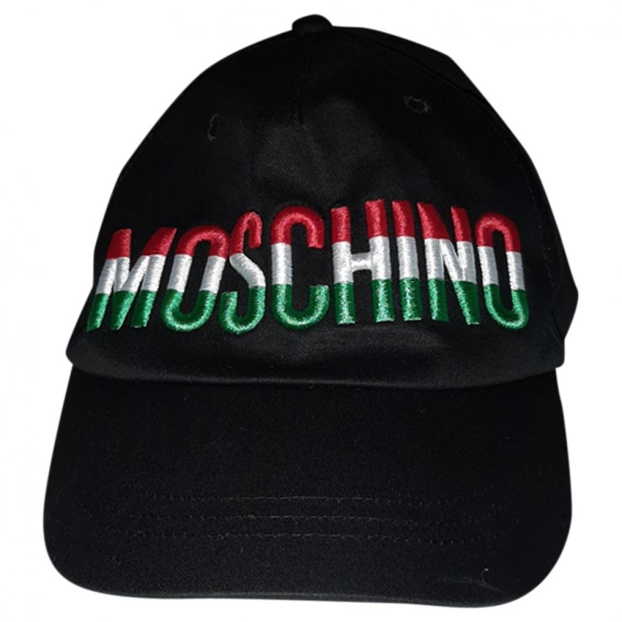 Moschino - Chapeaux.Bonnets.Gants   pour enfant en coton - noir