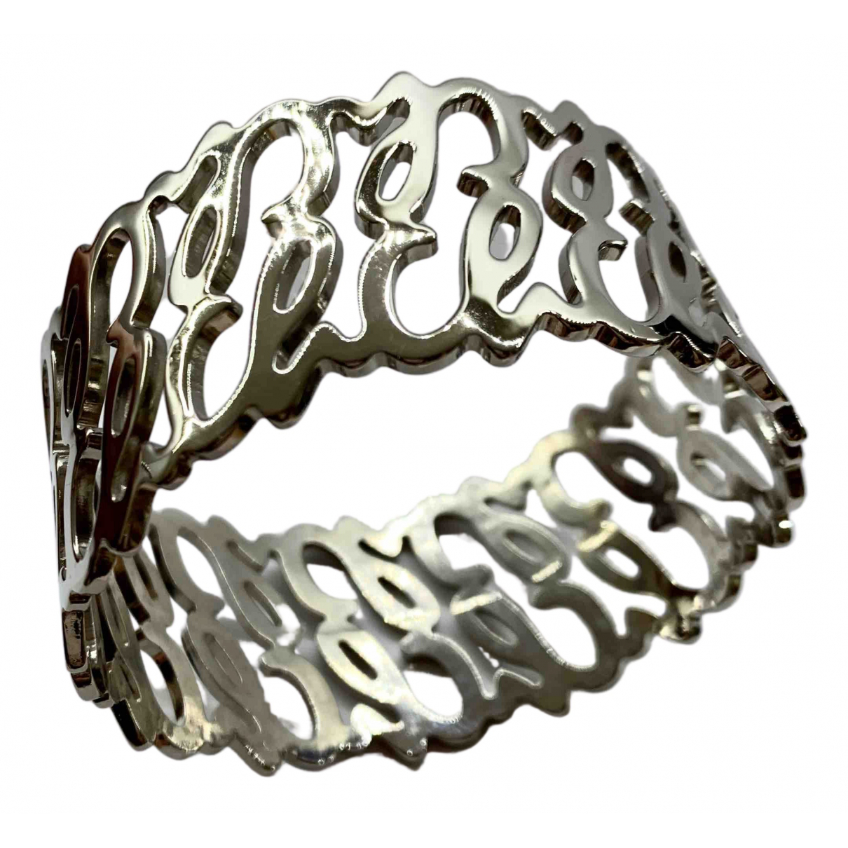 Carolina Herrera N Silver Metal bracelet for Women N