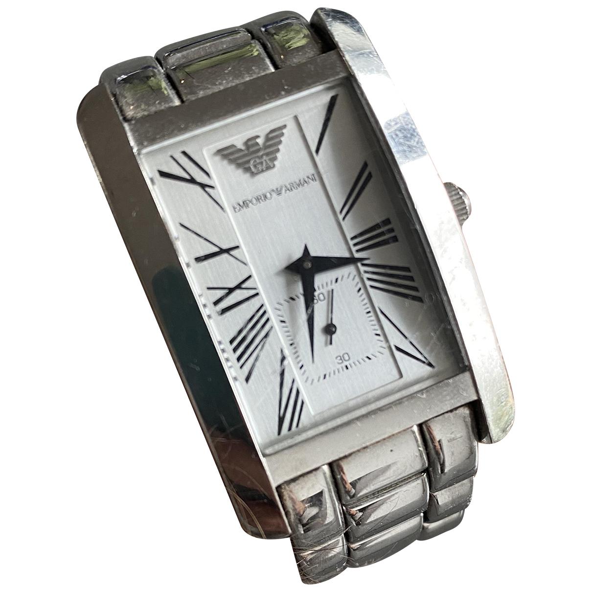 Emporio Armani N Silver Steel watch for Men N