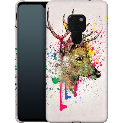 Huawei Mate 20 Smartphone Huelle - Splatter Deer von Mark Ashkenazi