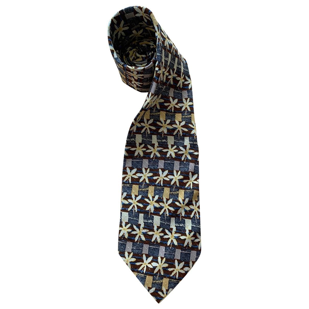 Ermenegildo Zegna - Cravates   pour homme en soie - multicolore