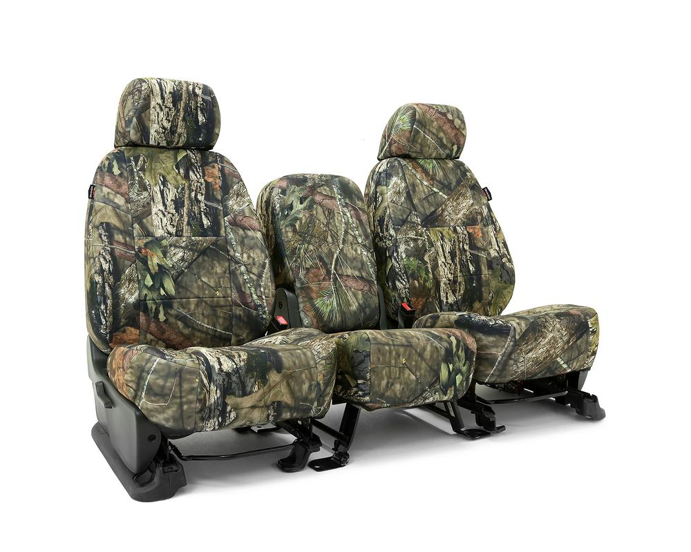 Coverking CSCMO10CH9657 Skanda Custom Seat Covers 1 Row Neosupreme Mossy Oak Break Up Country Solid (PMS 2718 C) Front Chevrolet Silverado 2500 | 3500