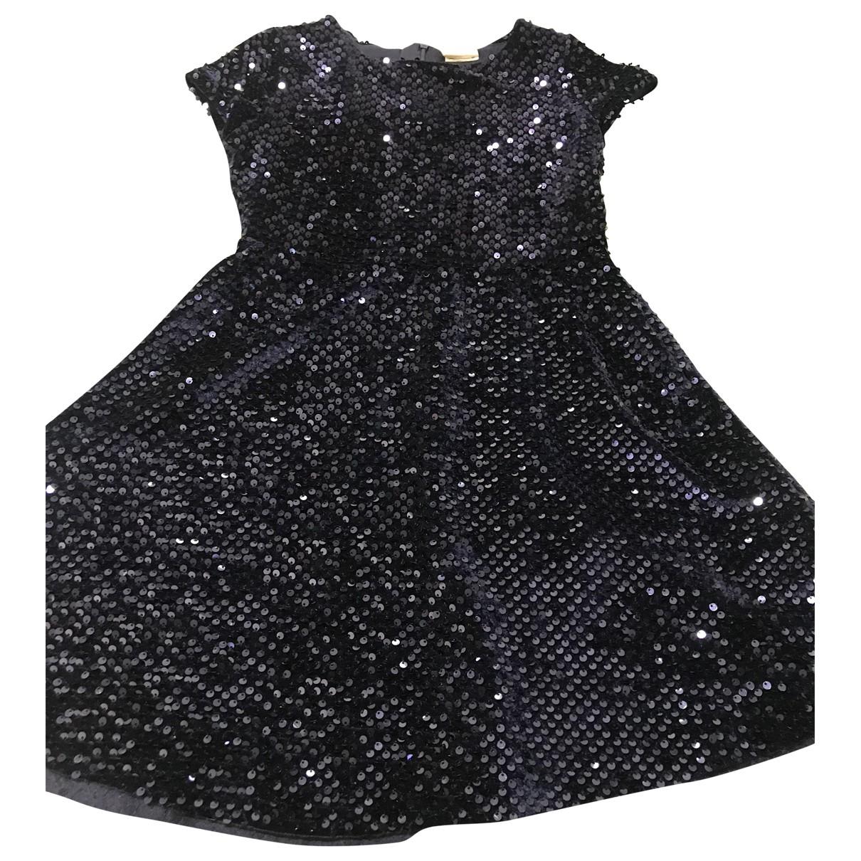 Zara - Robe    pour enfant en a paillettes - bleu