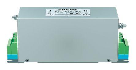 EPCOS , B84143A*R105 25A 520 V ac 50 → 60Hz, Flange Mount RFI Filter, Screw 3 Phase
