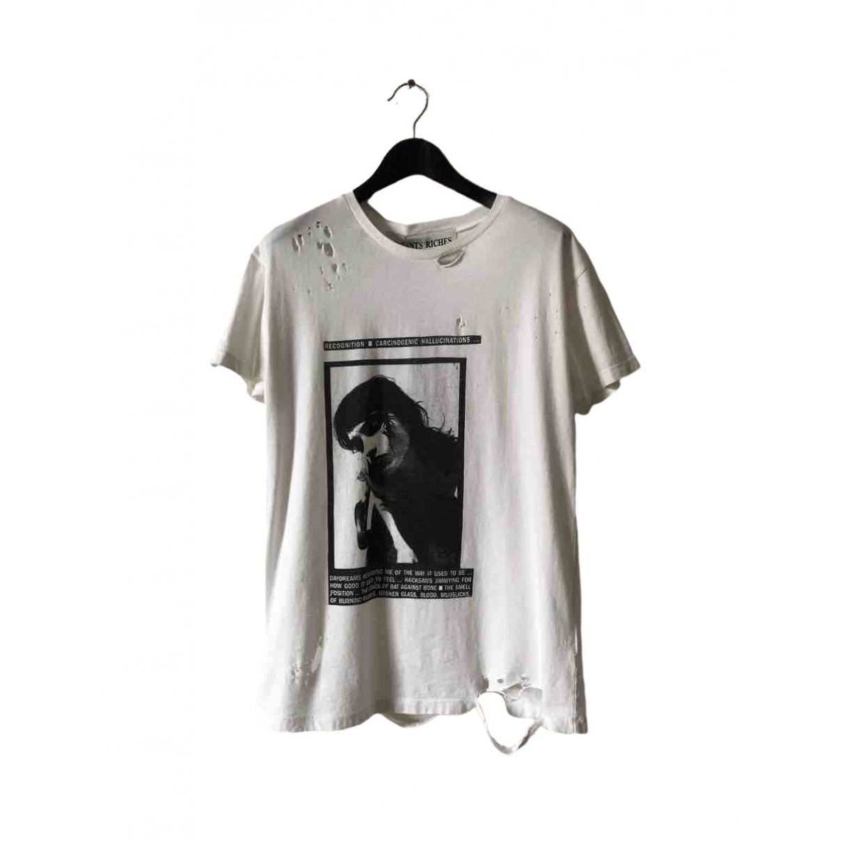 Enfants Riches Deprimes \N T-Shirts in  Weiss Baumwolle