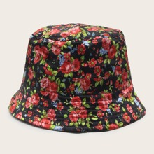 Floral Pattern Bucket Hat