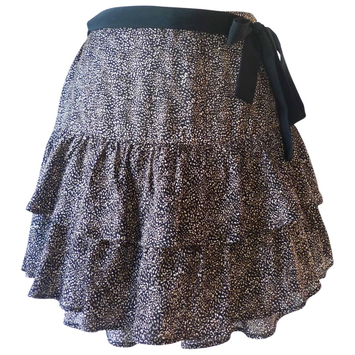 Ikks N Black skirt for Women 44 FR