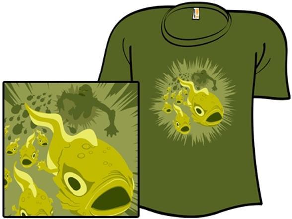 Spawn Of The Black Lagoon T Shirt