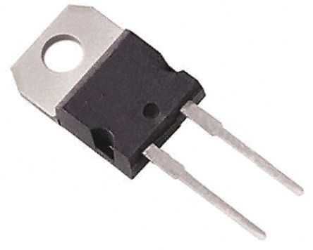 WeEn Semiconductors Co., Ltd 500V 14A, Silicon Junction Diode, 2-Pin TO-220AC BYT79-500,127 (5)