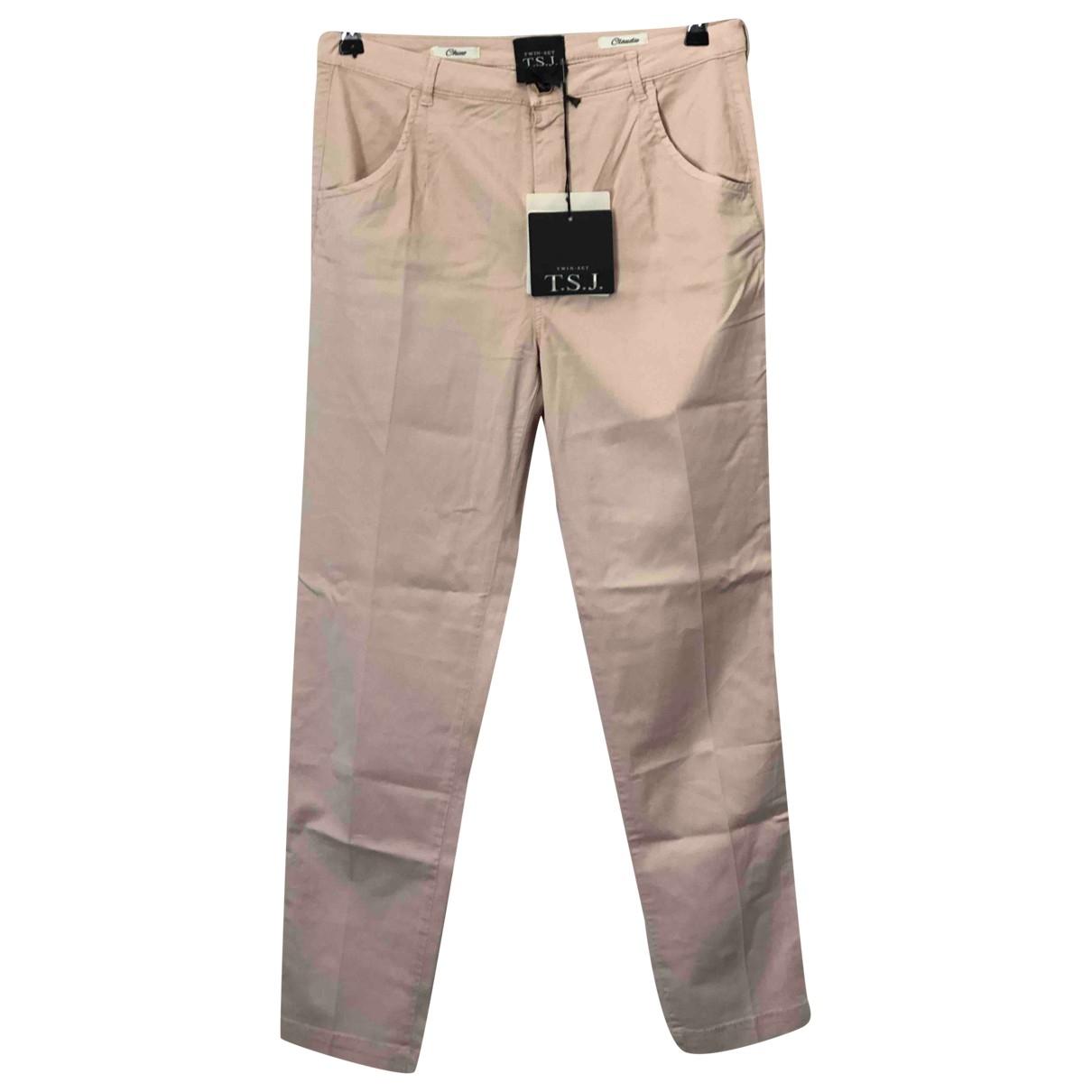 Twin Set \N Ecru Trousers for Women S International