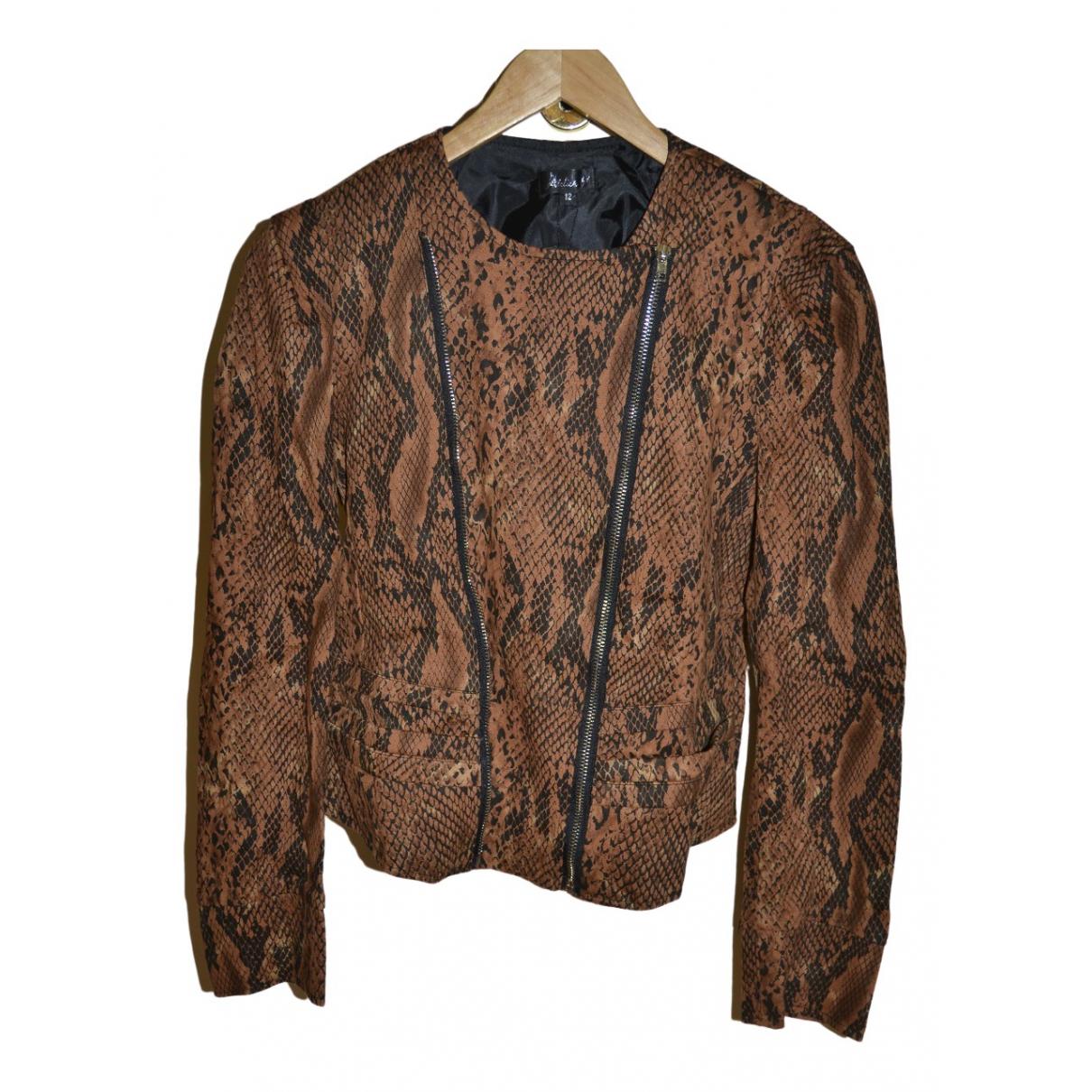 - Manteau   pour femme en coton - marron