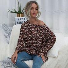Leopardenmuster  Laessig Sweatshirts