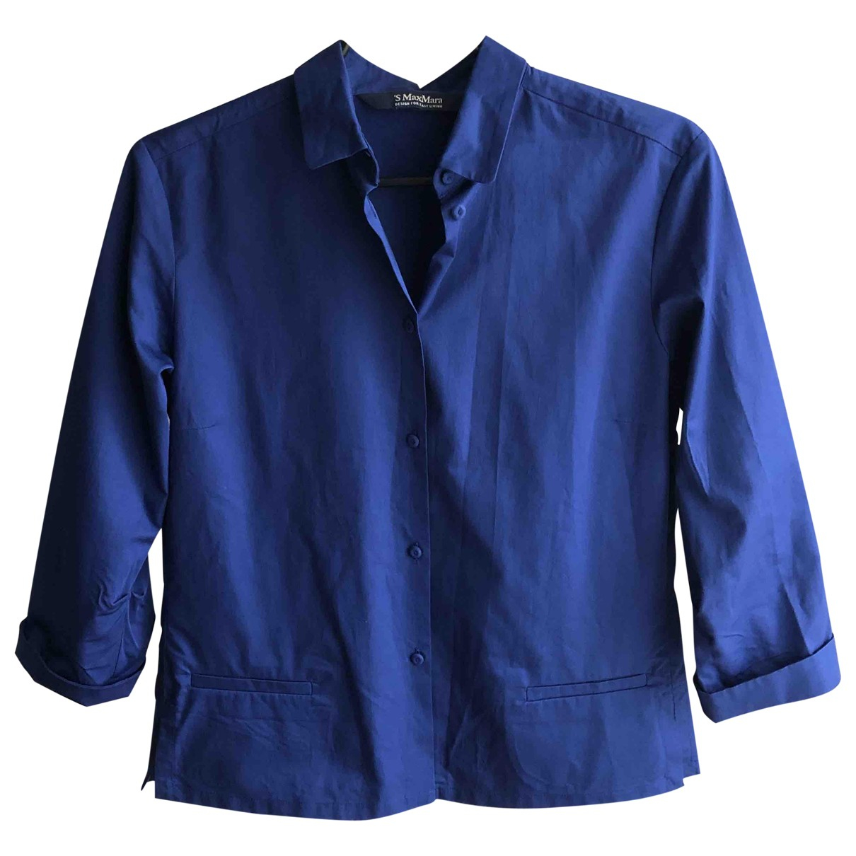 Max Mara s \N Blue Cotton  top for Women S International
