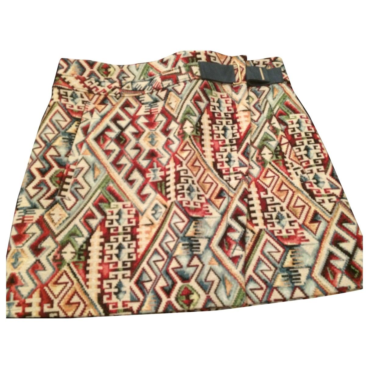 Mini falda de Lana Swildens