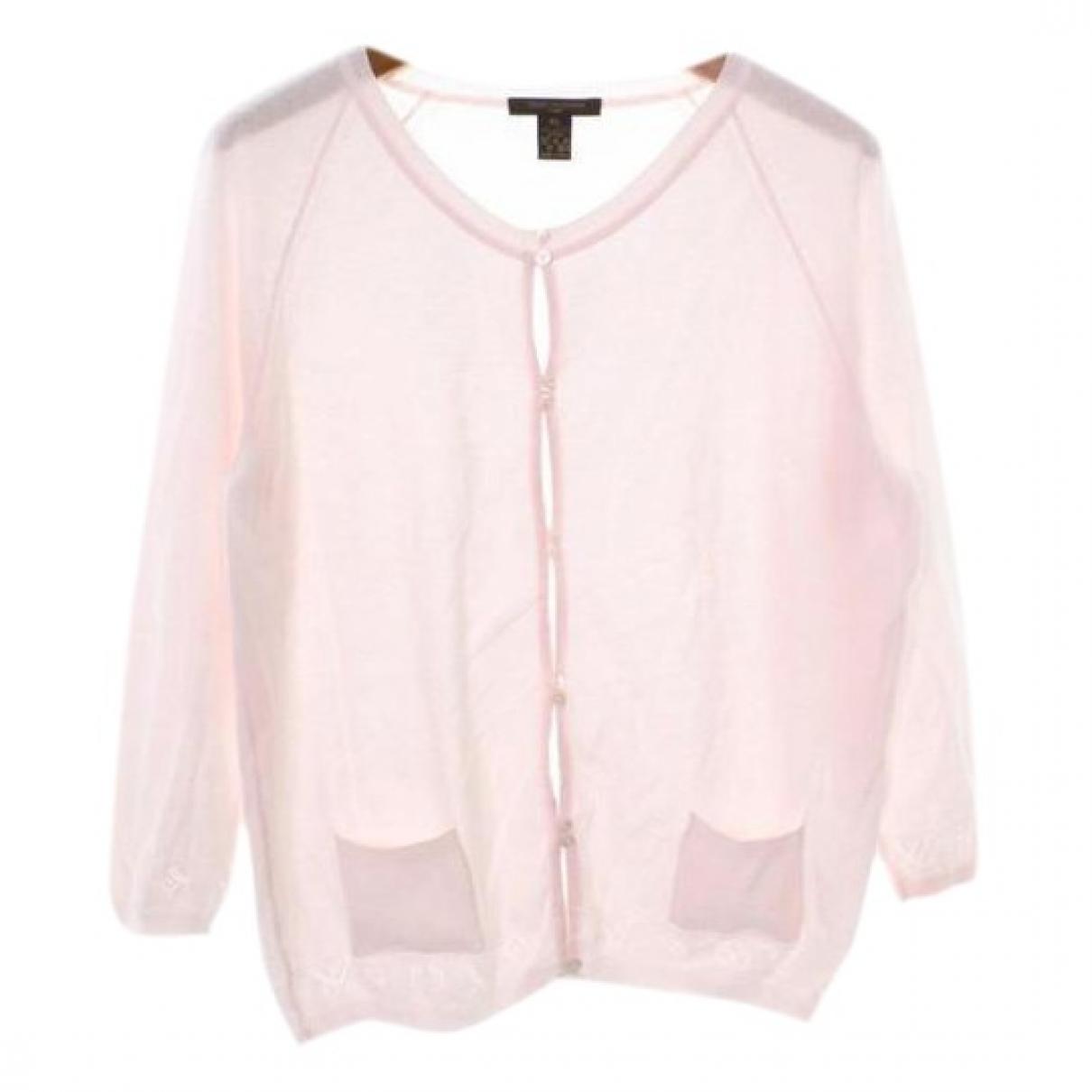 Louis Vuitton - Pull   pour femme en coton - rose