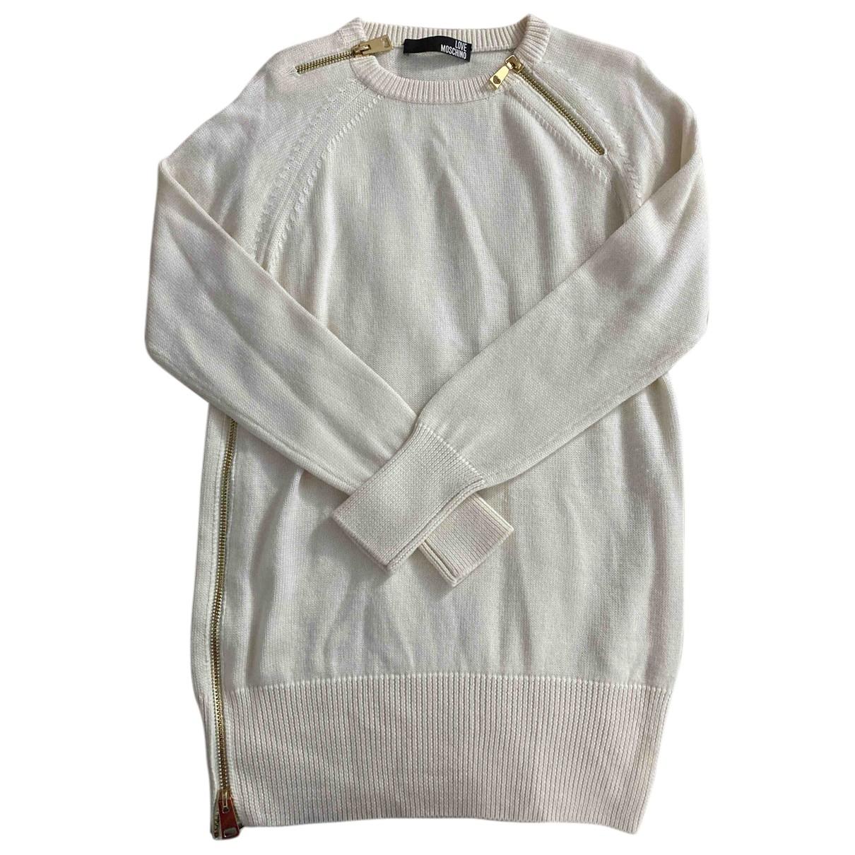 Moschino Love N Wool Knitwear for Women 44 IT