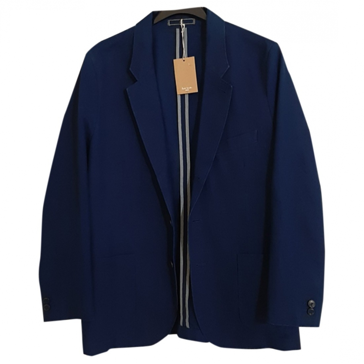 Paul Smith \N Blue Cotton jacket  for Men L International