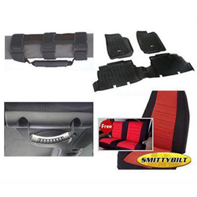 Genuine Packages Interior Pack (Black/Red) - 08124DBR