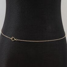 Heart Decor Waist Chain