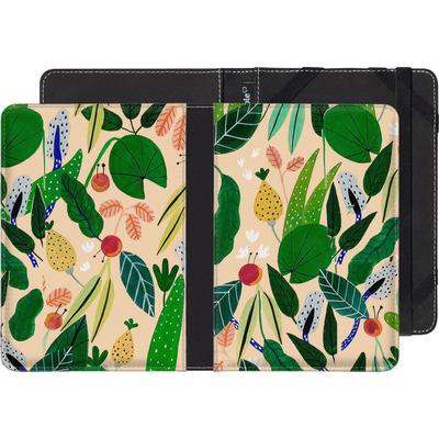 Sony Reader PRS-T2 eBook Reader Huelle - Tropical Greens von Iisa Monttinen