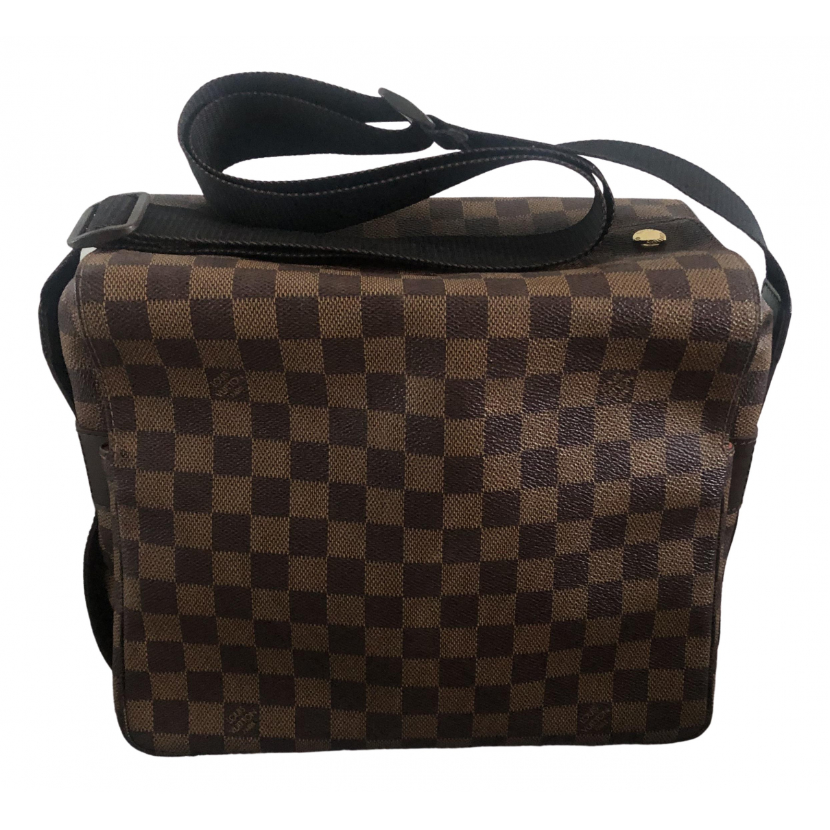 Louis Vuitton Naviglio Brown Cloth handbag for Women \N
