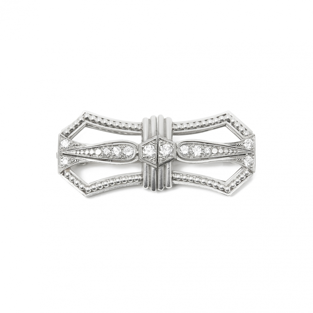 Tiffany & Co \N Brosche in  Weiss Platin
