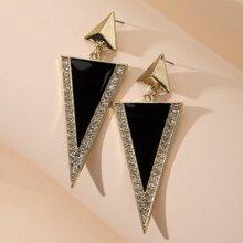 Pendientes con doble triangulo