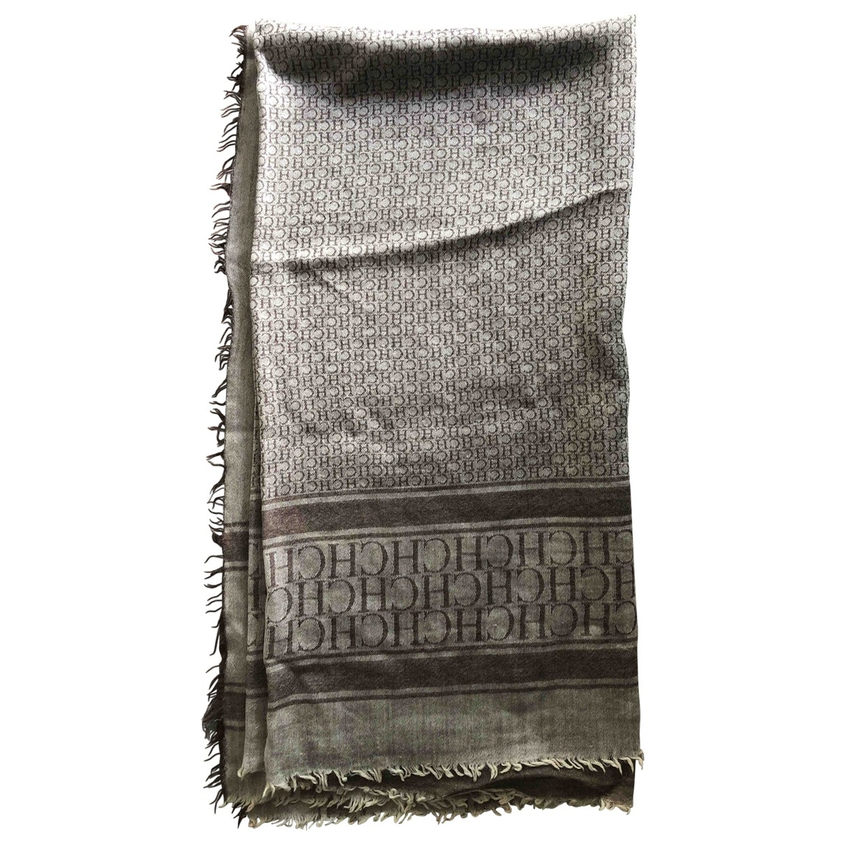 Carolina Herrera \N Brown Wool scarf for Women \N