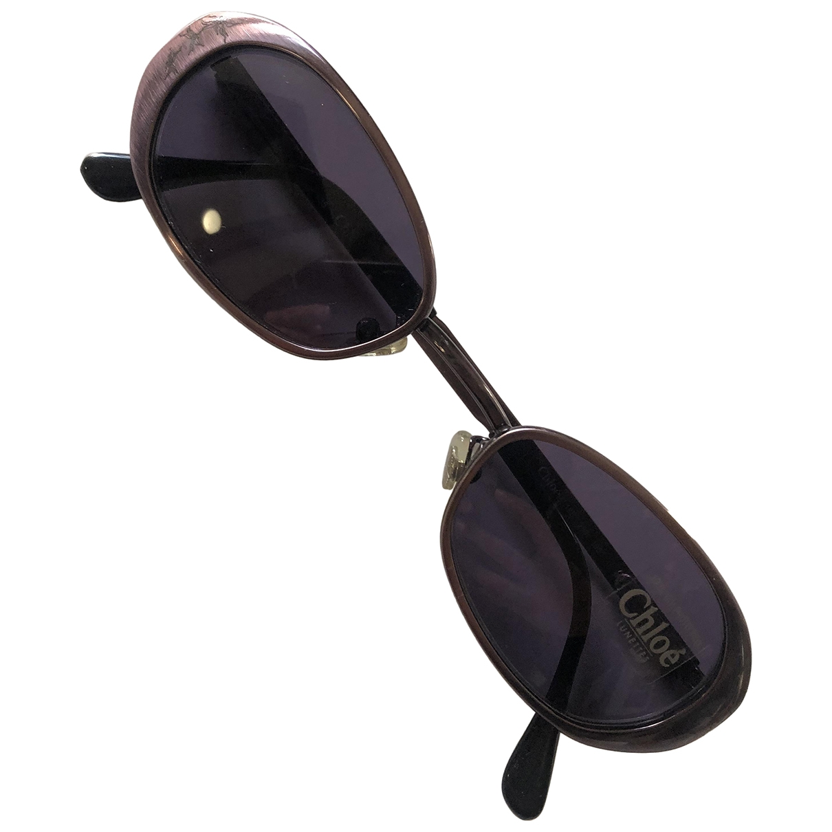 Chloe \N Sonnenbrillen in  Lila Metall