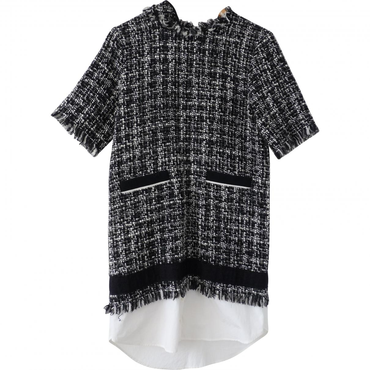 Msgm \N Black Tweed dress for Women 40 IT