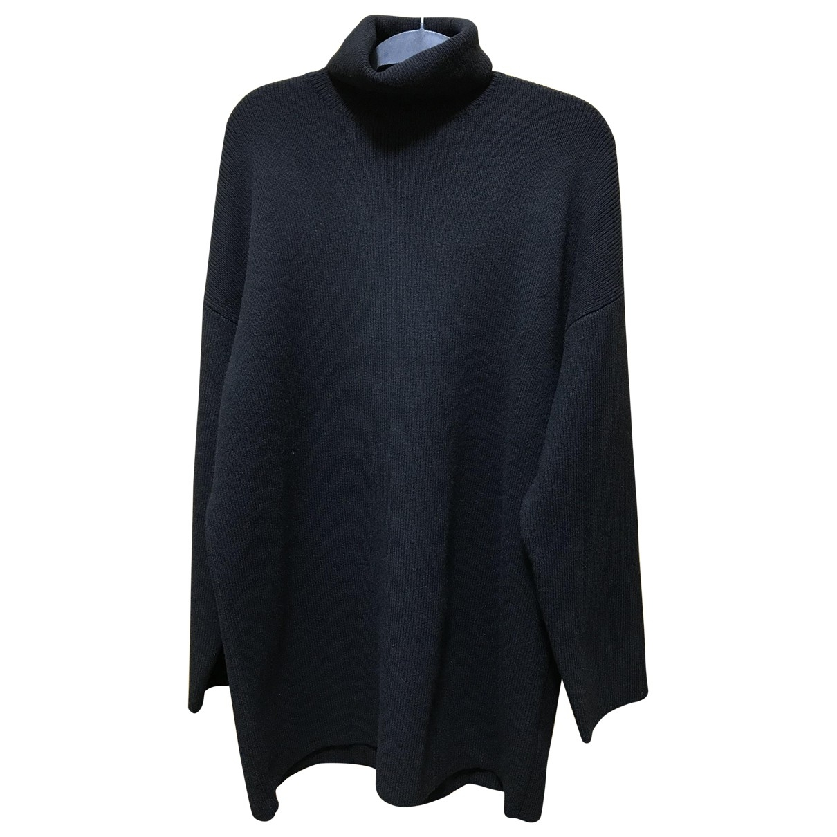 Balenciaga \N Pullover.Westen.Sweatshirts  in  Schwarz Wolle
