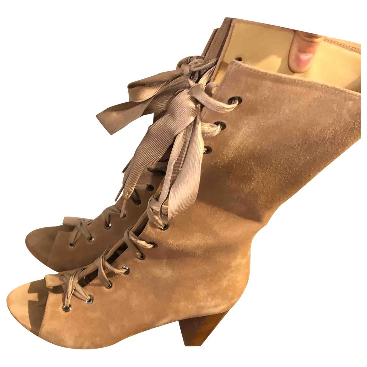 Sandalias de Cuero Longchamp