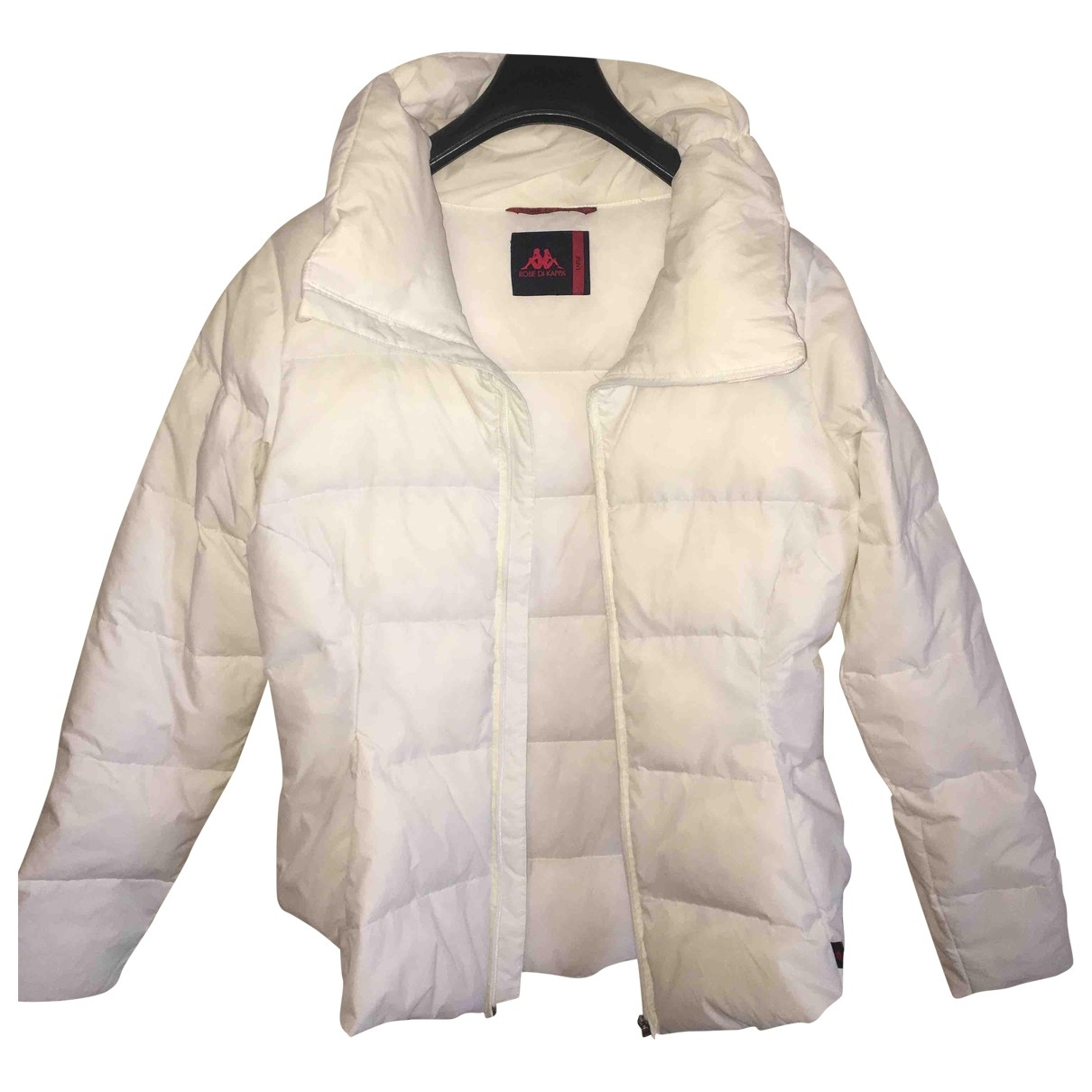 Kappa \N White Fur jacket for Women L International