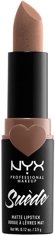Suede Matte Lipstick - Downtown Beauty (true brown)