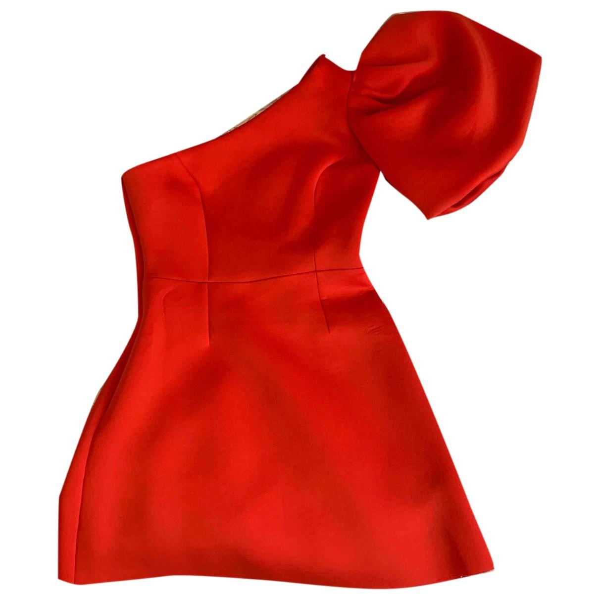 Asos - Robe   pour femme - rouge