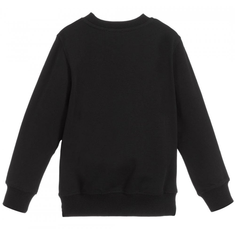 Moschino Sweater Colour: BLACK, Size: 6 YEARS