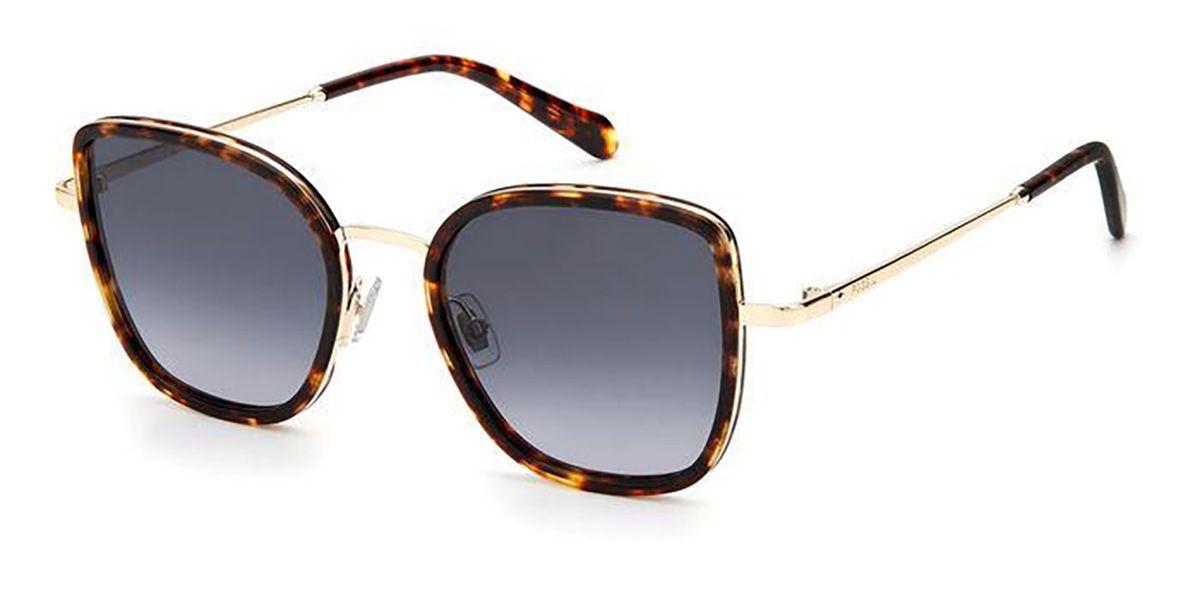Fossil FOS 2104/G/S 3YG/9O Women's Sunglasses Gold Size 51