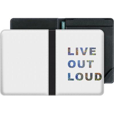 tolino vision 4 HD eBook Reader Huelle - Live Out Loud von Kaitlyn Parker