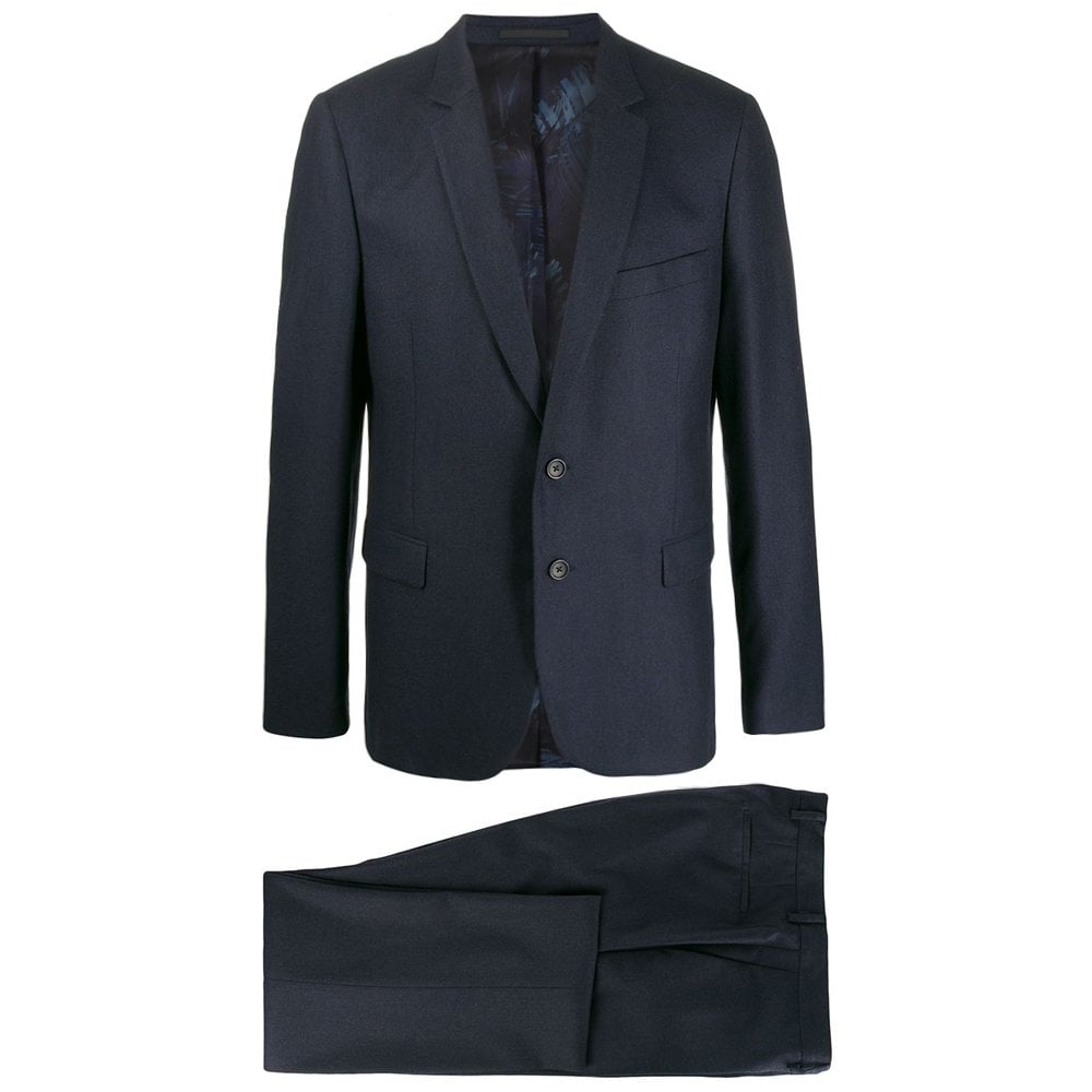 Paul Smith Wool Mohair Woven Suit Navy Colour: NAVY, Size: EXTRA EXTRA LARGE