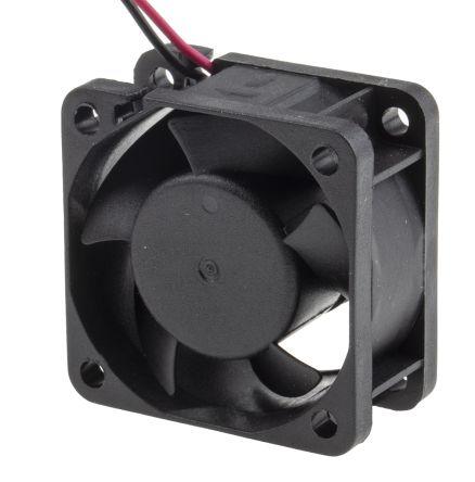 RS PRO , 12 V dc, DC Axial Fan, 40 x 40 x 20mm, 15.3m³/h, 1.2W