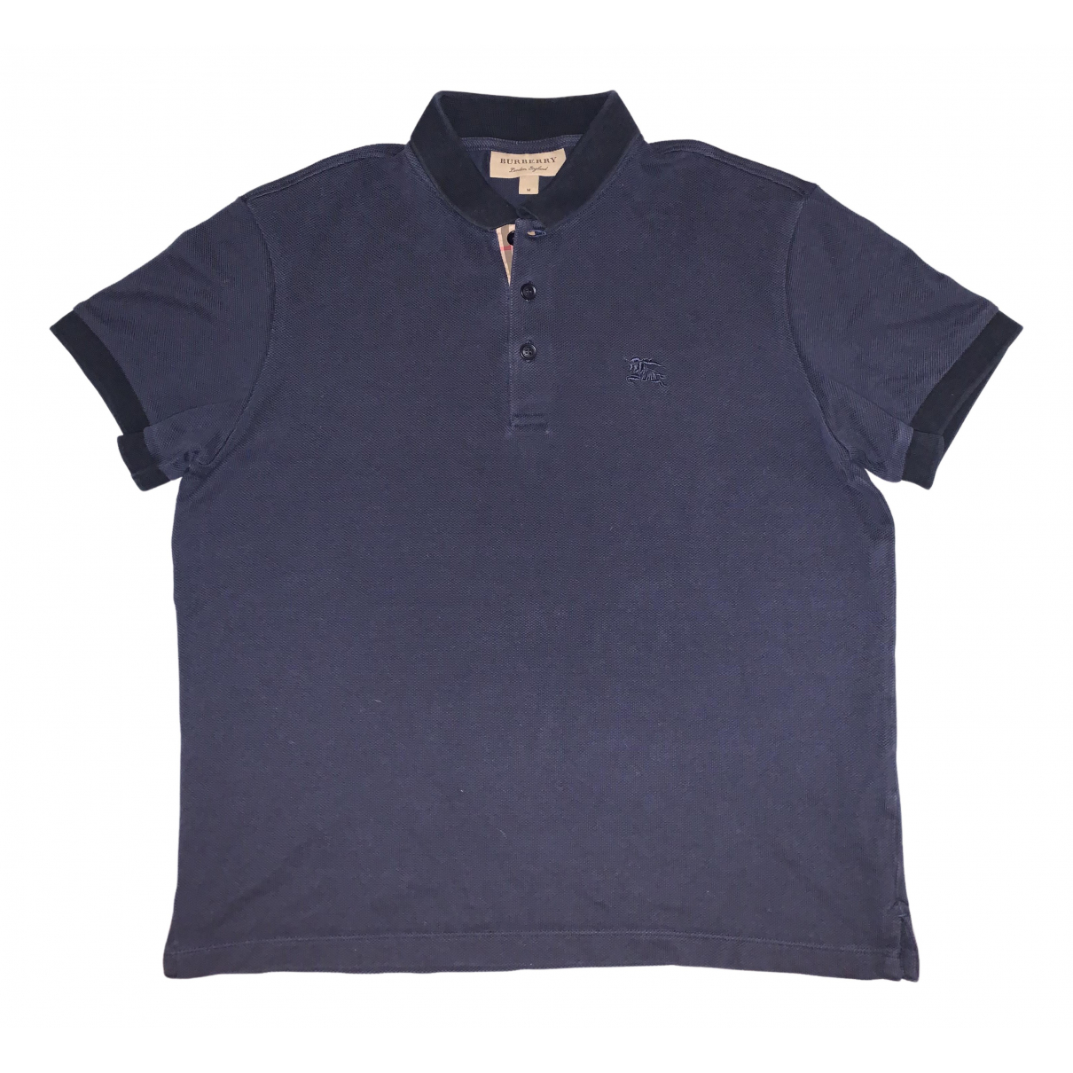 Burberry N Navy Cotton Polo shirts for Men M International